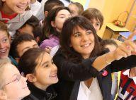 Estelle Denis et Najat Vallaud-Belkacem : De retour à l'école pour une dictée
