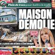 La maison de Céline Dion, à Charlemagne au Québec, fait la couverture du Journal de Montréal, le 14 octobre 2014