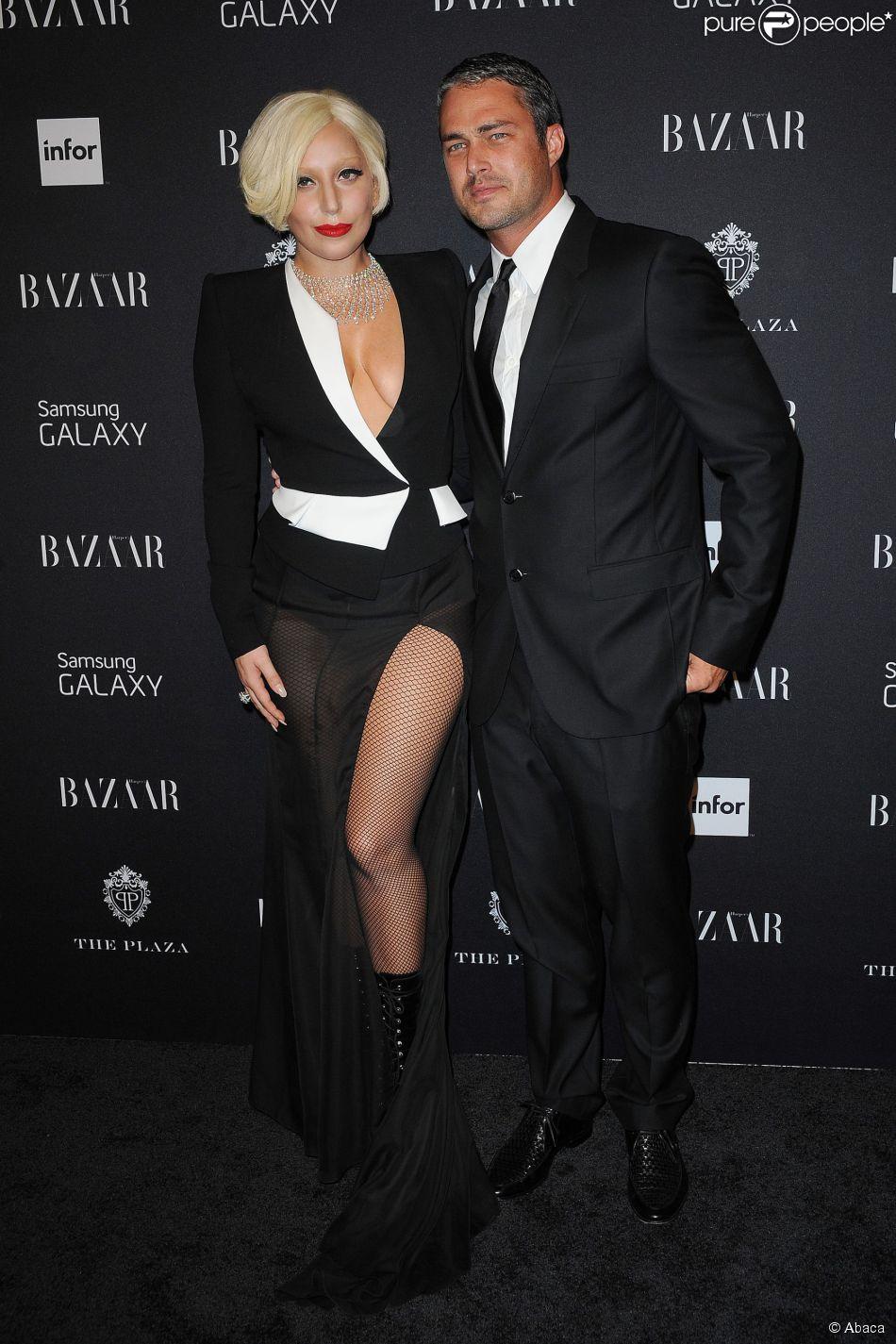 Lady Gaga et Taylor Kinney à New York, le 5 septembre 2014.