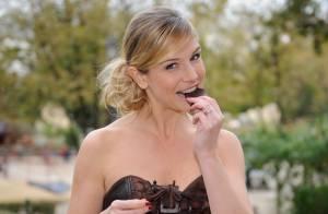 Louise Ekland : Craquante et chocolatée, la belle est prête pour le grand show