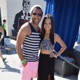 Corbin Bleu et Sasha Clementsau Hard Rock Hotel de Palm Springs, Los Angeles, le 19 avrill 2014