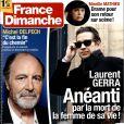 Magazine France Dimanche en kiosques le 17 octobre 2014.