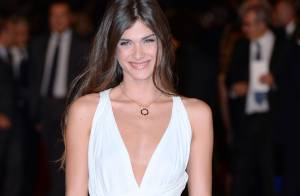 Elisa Sednaoui, telle une nymphe sensuelle pour envoûter le Festival de Rome