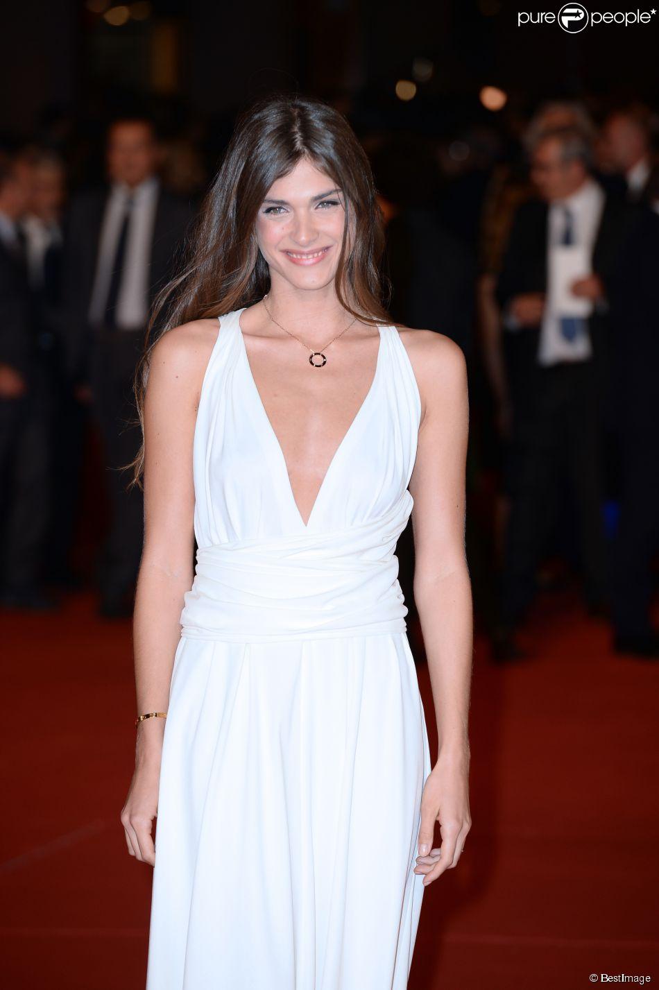"""Elisa Sednaoui à l'avant-première du film """"Soap Opera"""" lors de l'ouverture du festival du film de Rome le 16 octobre 2014"""