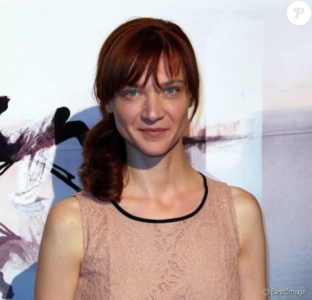 Odile Vuillemin - Cérémonie de clôture du 14e Festival de la Fiction TV de La Rochelle en 2012.