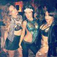 Kelly Brook, photo publiée sur son compte Instagram le 19 octobre 2014