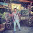 David McIntosh lors de son séjour à Tijuana au Mexique, photo publiée sur son compte Instagram le 19 octobre 2014