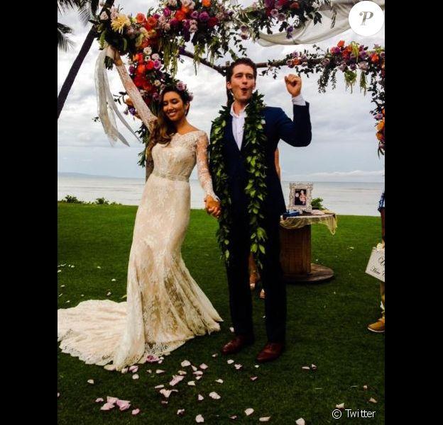 Photo du mariage de Matthew Morrison et Renee Puente, le 20 octobre 2014