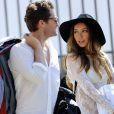 Exclusif - L'acteur Matthew Morrison et sa fiancée Renee Puente repérés lors d'une séance photo à Los Angeles, le 22 septembre 2014