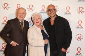 Pascal Obispo et Line Renaud, complices pour le retour d'Ensemble contre le sida