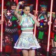 Katy Perry en concert au MGM Grand Arena à Las Vegas, le 27 septembre 2014.