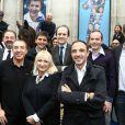 Les animateurs d'Europe 1 ont répondu présent, avenue François Ier à Paris, à l'occasion du défilé organisé pour les 10 ans d'antenne de Nicolas Canteloup, le vendredi 24 octobre 2014.