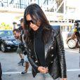 Kim Kardashian à l'aéroport de Los Angeles, le 26 octobre 2014.