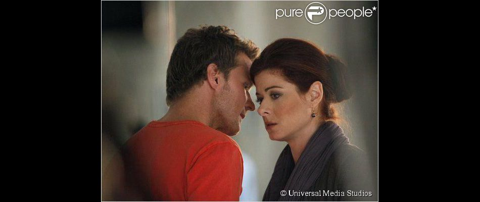 Debra Messing et Will Chase dans Smash