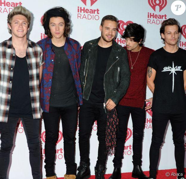 One Direction à la soirée iHeartRadio Music Festival à Las Vgeas, le 20 septembre 2014