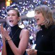 Karlie Kloss et Taylor Swift au Madison Square Garden pour le match NBA New York Knicks - Chicago Bulls le 29 octobre 2014.