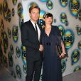 Ewan McGregor et son épouse Eve Mavrakis lors de l'after party des Golden Globes le 15 janvier 2012