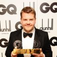 James Corden lors des GQ Men Of The Year Awards à la Royal Opera House de Bow Street, à Londres, le 4 septembre 2012