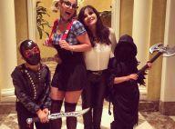 Britney Spears : Etudiante geek pour Halloween avec ses deux fils effrayants !