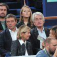 Gilbert Coullier lors des demi-finales du tournoi de tennis BNP Paribas Masters au Palais Omnisport de Paris Bercy, à Paris le 1er novembre 2014