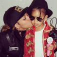 Beyoncé et sa fille Blue déguisées pour Halloween 2014 en Janet et Michael Jackson