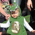 Exclusif - Axl (fils de Fergie et Josh Duhamel) déguisé en dragon pour Halloween 2014
