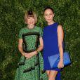 Anna Wintour et Stella McCartney assistent aux 11e CFDA/Vogue Fashion Fund Awards à New York City. Le 3 novembre 2014
