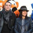 """""""Alizee officialise et Grégoire Lyonnet lors du coup d'envoi des illuminations de Noel à Ajaccio le 7 décembre 2013"""""""