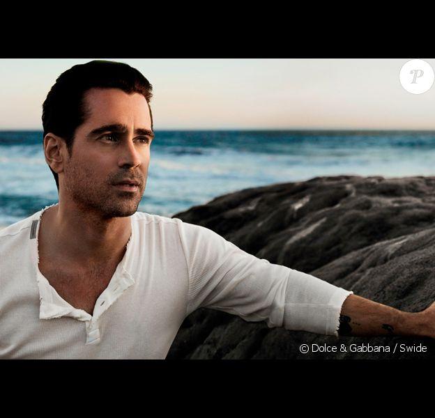 Colin Farrell est l'égérie d'Intenso, le nouveau parfum pour hommes de Dolce & Gabbana.