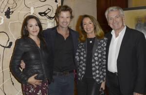 Candice Hugo ravissante pour soutenir son mari avec sa maman Nicole Coullier