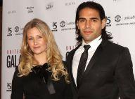 Falcao et sa belle Lorelei : Glamour pour un gala avec les stars de Manchester