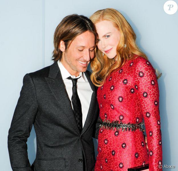 """Keith Urban et Nicole Kidman assistent au dîner """"Louis Vuitton celebrating Monogram"""" organisé par Louis Vuitton au MoMA. New York, le 7 novembre 2014."""