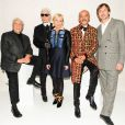 Les iconoclastes de la collection Louis Vuitton celebrating Monogram Frank Gehry, Karl Lagerfeld, Cindy Sherman, Christian Louboutin et Marc Newson réunis au MoMA. New York, le 7 novembre 2014.