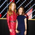 """Nicole Kidman et Sofia Coppola assistent au dîner """"Louis Vuitton celebrating Monogram"""" organisé par Louis Vuitton au MoMA. New York, le 7 novembre 2014."""