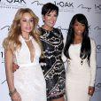 Faye Resnick, Kris Jenner et Malika Haqq au 1OAK à Las vegas, le 7 novembre 2014.
