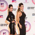 The Bella Twins - Cérémonie des MTV Europe Music Awards à Glasgow, le 8 novembre 2014.