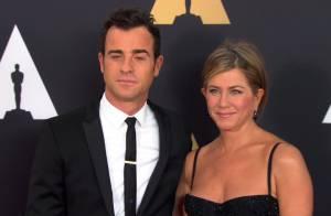 Jennifer Aniston, amoureuse chic au bras de son chéri face à Marion Cotillard