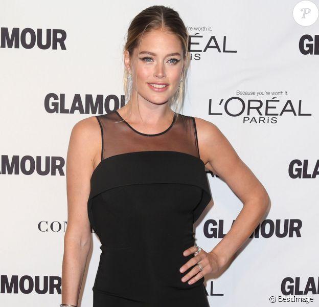 Doutzen Kroes sublime aux Glamour Women Of The Year Awards à New York City, le 10 novembre 2014