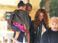 Beyoncé et Jay Z : Shopping et sourires avec la stylée Blue Ivy