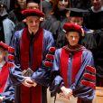 """Laura Linney et Daniel Day-Lewis lors de la cérémonie """"Juilliard's 108th Commencement"""" à New York le 24 mai 2013"""