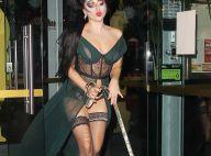 Lady Gaga : En déshabillé coquin, la diva montre encore ses dessous