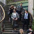 Thomas Vergara qui est sorti de l'hôpital Georges Pompidou, est entouré de sa mère et deux amis à la gare de Lyon le 12 novembre 2014. Après avoir déjeuné au restaurant le train bleu, le groupe est allé prendre un TGV à destination de Aix-en-Provence. Le 12 novembre 2014.