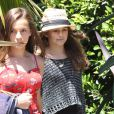 CINDY CRAWFORD ET SA FILLE KAYA GERBER QUITTENT LE CAFE HABANA A MALIBU  50826285 Model Cindy Crawford and daughter Kaia Gerber leaving Cafe Habana with a friend in Malibu, California on July 7, 2012 Model Cindy Crawford and daughter Kaia Gerber leaving Cafe Habana with a friend in Malibu, California on July 7, 201207/07/2012 - LOS ANGELES