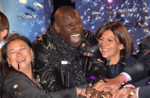 Omar Sy : Bain de foule et féérie pour les illuminations des Champs-Élysées
