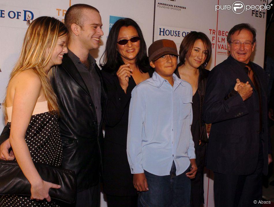 Zachary Williams 2012 Mort de Robin Williams  Son