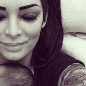 Emilie Nef Naf maman : Première photo de son adorable bébé Menzo