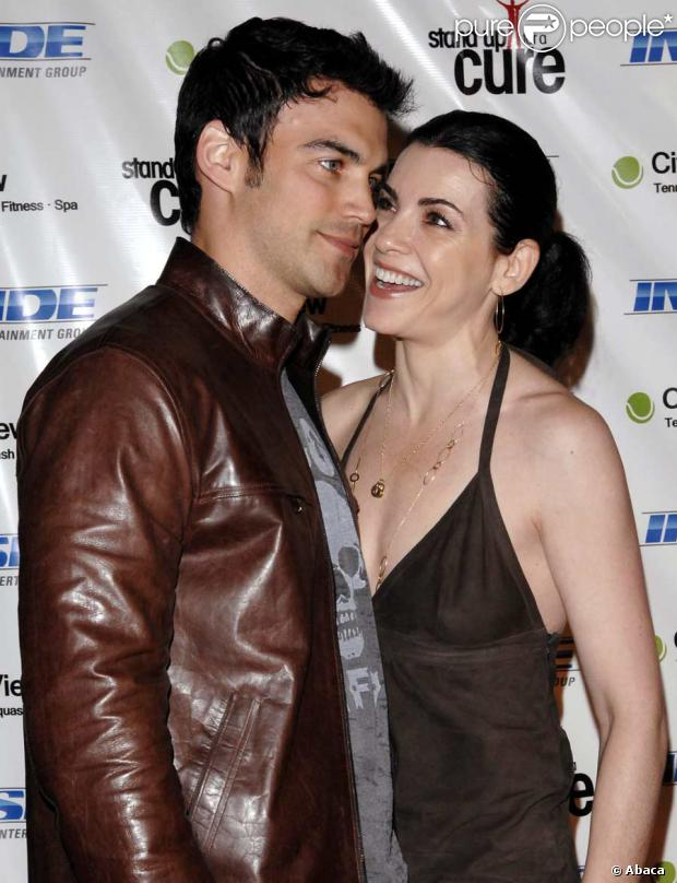 Julianna Margulies et Keith Lieberthal
