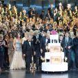Cérémonie Top Model Belgium 2014 au Lido à Paris, le 23 novembre 2014