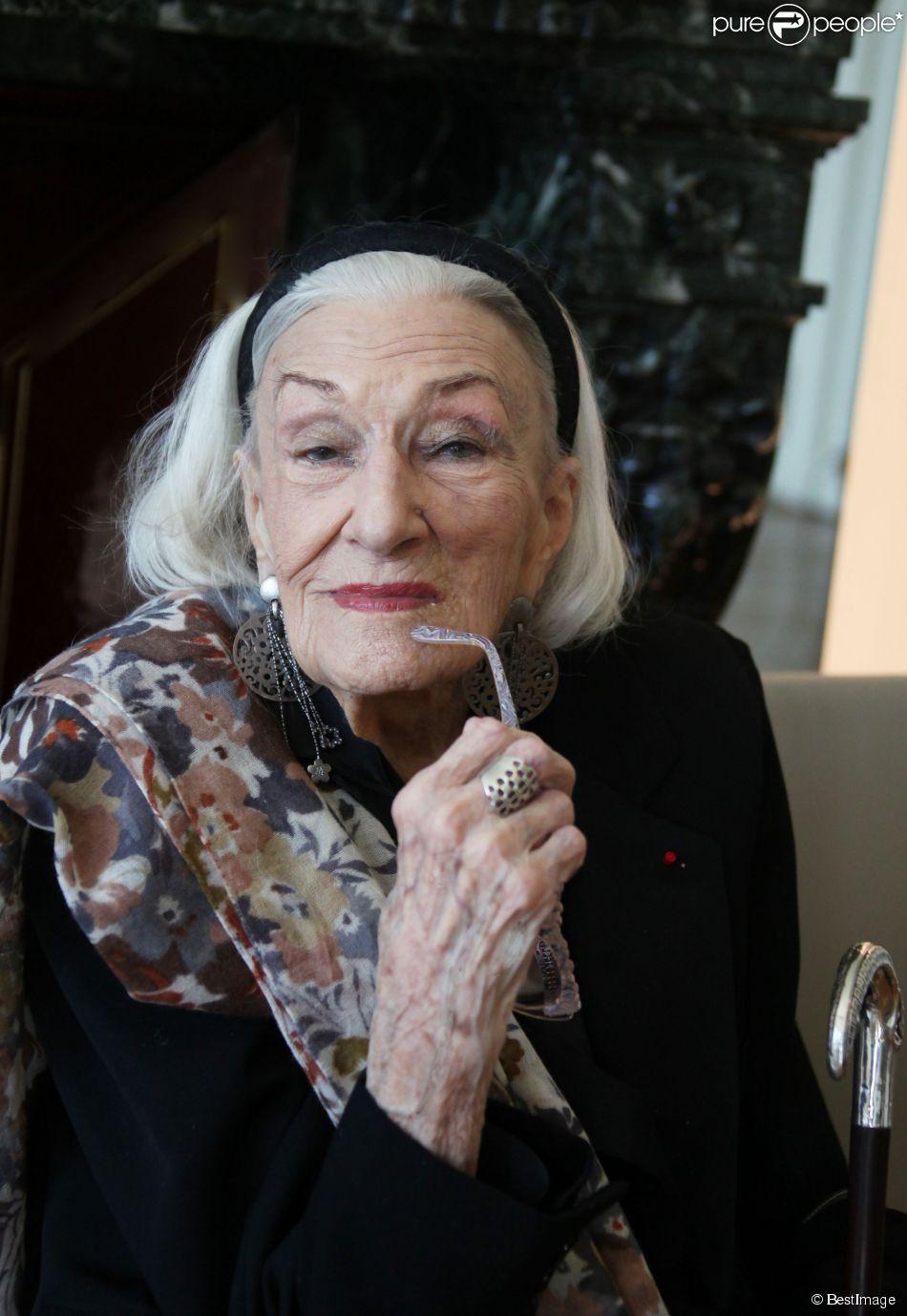 Hélène Duc à Paris en 2012