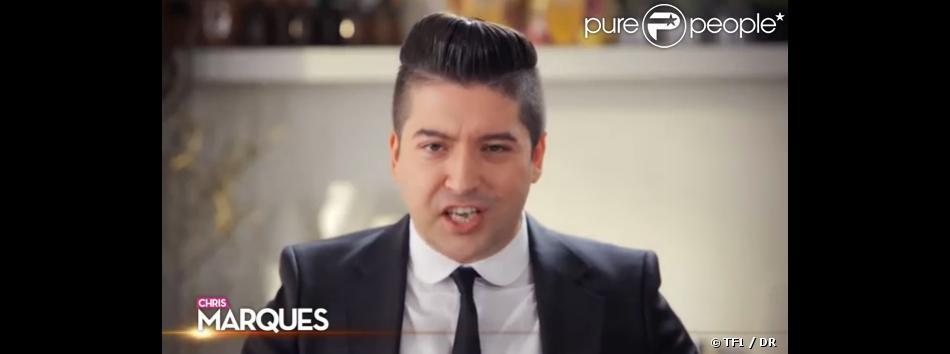 """Chris Marques, juré de l'émission """"Danse avec les stars"""" depuis 2 saisons sur TF1."""